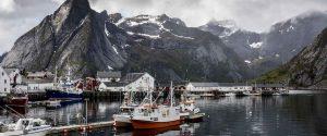 fiskeleir representerer norge